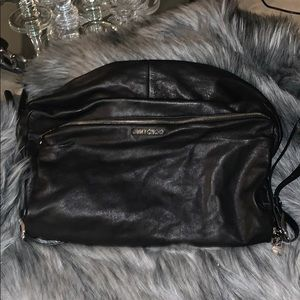 Jimmy Choo large biker Hobo  bag